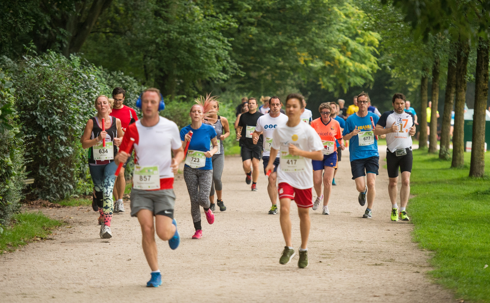 MOPO Team-Staffellauf am 30.08.2017 in Hamburg. Foto: Daniel Reinhardt